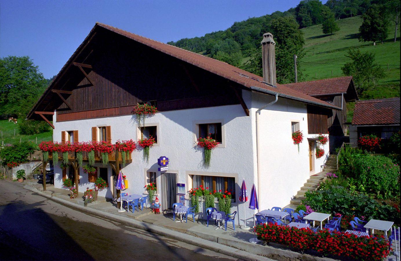 Edelweiss seleute jura gruppenunterkunft schweiz