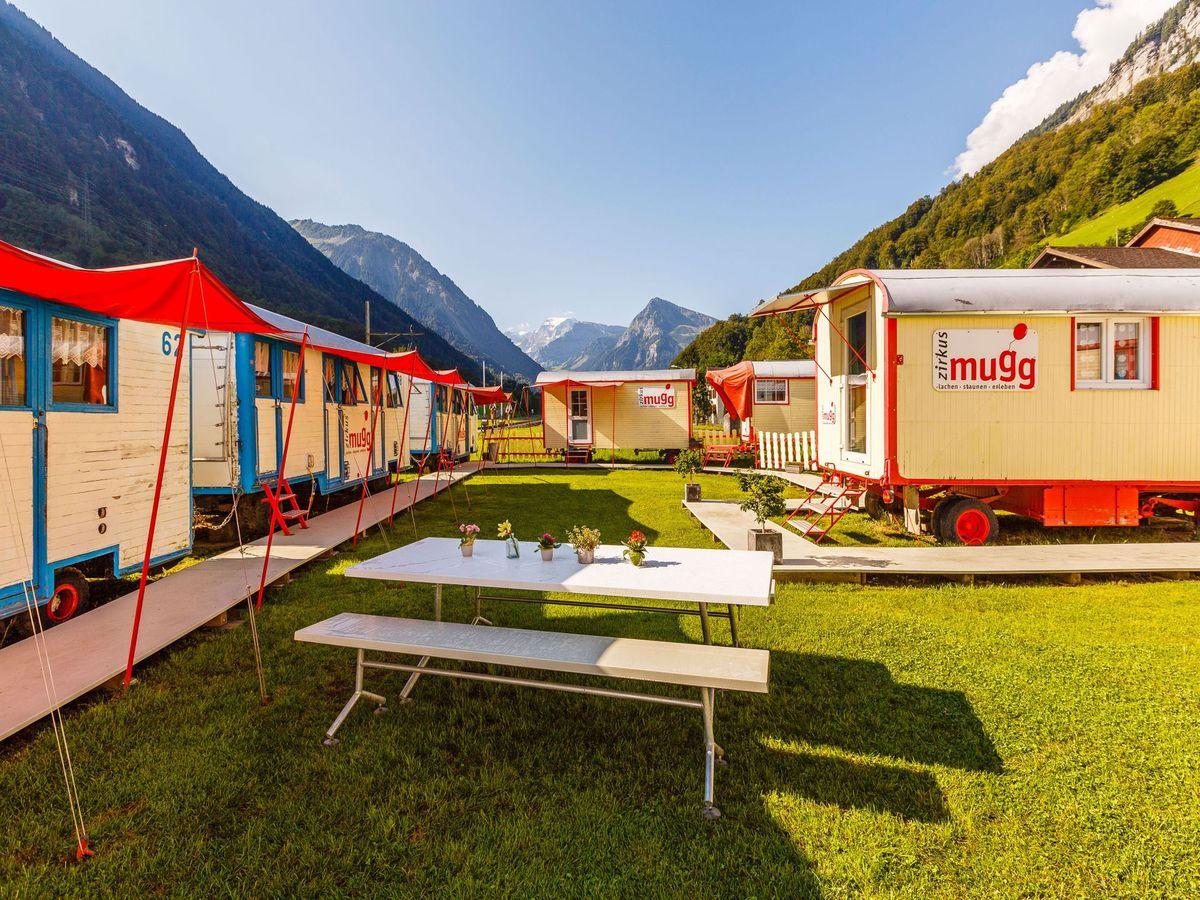 zirkusstadt mugg betschwanden glarus gruppenunterkunft k nfte schweiz. Black Bedroom Furniture Sets. Home Design Ideas